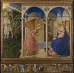 La Anunciación, by Fra Angelico, from Prado in Google Earth.jpg