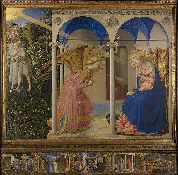 File:La Anunciación, by Fra Angelico, from Prado in Google Earth.jpg