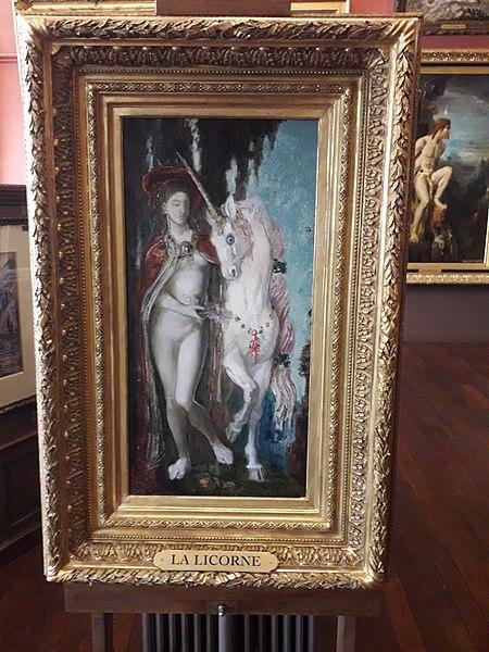 File:La Licorne, Gustave Moreau.jpg