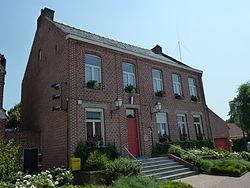 La Neuville (Nord, Fr) mairie.JPG