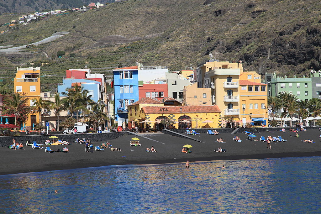 La Palma - Tazacorte - El Puerto - Avenida El Emigrante + Plaza Castilla + Playa 01 ies