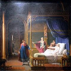 La Déférence de saint Louis pour sa mère