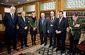 La presidenta junto a los responsables de la Fundación Areces.jpg