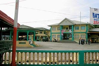 Labrador, Pangasinan - Poblacion and Municipal Hall