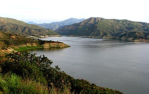 Piru, California - Lake Piru, 2009