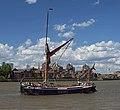 Lady Daphne on the Thames near Greenwich.jpg
