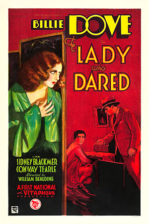 The Lady Who Dared - Film poster