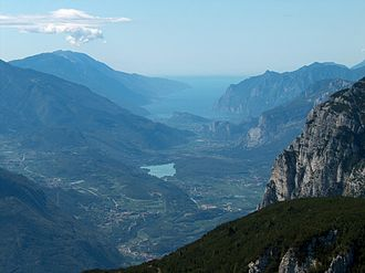 Rossignola - Rossignola has been grown in the Verona province, including around Lake Garda (pictured), but it is a distinct variety from the ancient Lake Garda grape Rosetta di Montagna.