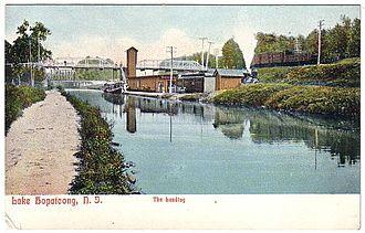 Lake Hopatcong station - Image: Lake Hopatcong prior to 1911