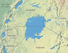 Map showing the location of Mount Elgon National Park