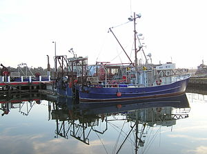 English: Lakes Entrance Victoria fishing boat ...