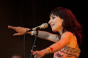 Laleh (singer) - Laleh on stage in June 2009