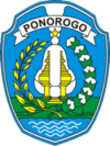 Official seal of Ponorogo