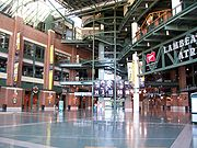 The Atrium inside Lambeau Field
