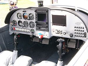 Lancair Legacy - Legacy FG instrument panel