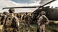 Latvian Soldiers, San Gregorio, Spain, NATO Trident Juncture 15 (22711500755).jpg