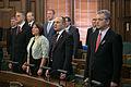 Latvijas Republikas proklamēšanas 95. gadadienai veltītā Saeimas svinīgā sēde (10923718695).jpg