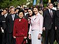 Laura Bush and Liu Yongqing (April 20, 2006).jpg
