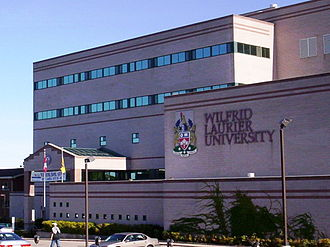 Wilfrid Laurier University - The main campus in Waterloo