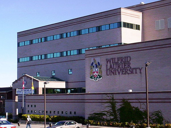 The main campus in Waterloo