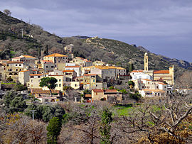 A view of Lavatoggio village