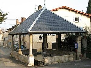 Saint-Germain-au-Mont-d'Or - The lavoir