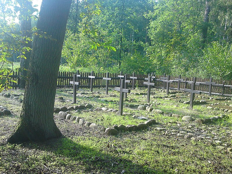 File:Leśny cmentarz wojenny 1915 r - panoramio (1).jpg
