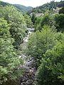 Le Moulinon (St.Sauveur-de-Montagut, Ardèche, Fr) l'Auzène (vers l'amont).JPG
