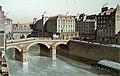 Le Petit-pont et la Place du Petit-pont, 1830.jpg