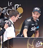Xabier Zandio at the 2014 Tour de France