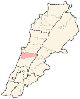 Aley District District in Mount Lebanon Governorate, Lebanon