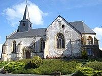 Leffincourt (Ardennes, Fr) l'église.JPG