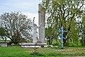 Lemeshiv Horokhivskyi Volynska-monument to the countryman.jpg