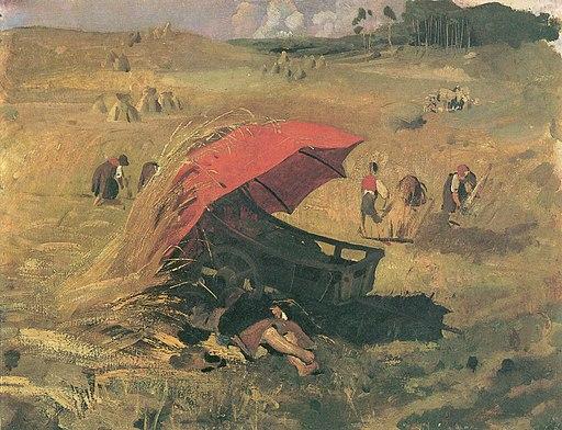Lenbach–Czerwony parasol