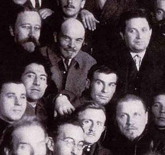 Andrey Vyshinsky - Andrei Yanuarevich Vyshinsky (bottom right of Lenin), 1922. Kamenev, Lenin, Zinoviev, party congress
