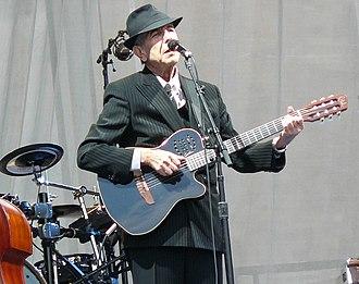 Leonard Cohen - Cohen at Edinburgh Castle, July 2008