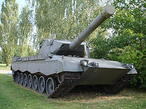 Leopard 2 - Leopard 2 PT15 with 105 mm smoothbore gun