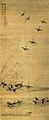 Les Oies sauvages par Tokusai.jpg