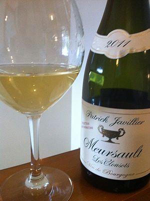 Meursault wine - A Chardonnay from Meursault.