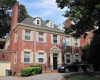 Embassy in Washington, D.C., United States LesothoEmbassyWashingtonDC.jpg