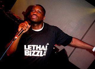 Lethal Bizzle British rapper