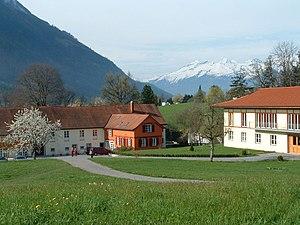 Religion in Austria - Letzehof Buddhist Monastery at Feldkirch, in Vorarlberg.