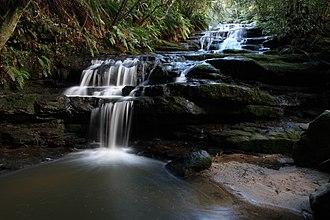 Leura, New South Wales - Image: Leura cascades stream