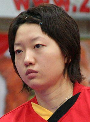 Li Jiawei - Li at the ITTP Pro Tour Liebherr Austrian Open in Wels, Austria, on 28 October 2007