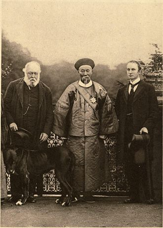 Li Hongzhang - Li Hongzhang with Lord Salisbury and Lord Curzon