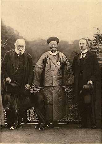 Li Hongzhang - Li Hongzhang with Lord Salisbury and Lord Curzon