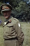 Lieutenant General J T Crocker, Cb, Cbe, Dso, Mc, Commander of 1st Corps, France, August 1944 TR2167.jpg
