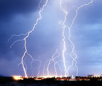 Electricity - Lightning is one of the most dramatic effects of electricity.