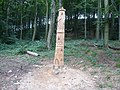 Linacre - Wood Carving - geograph.org.uk - 546517.jpg