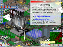Screenshot of Lincity-NG